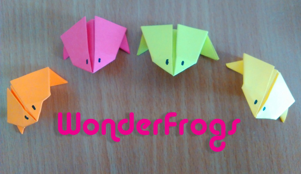 Make your own WonderFrog!