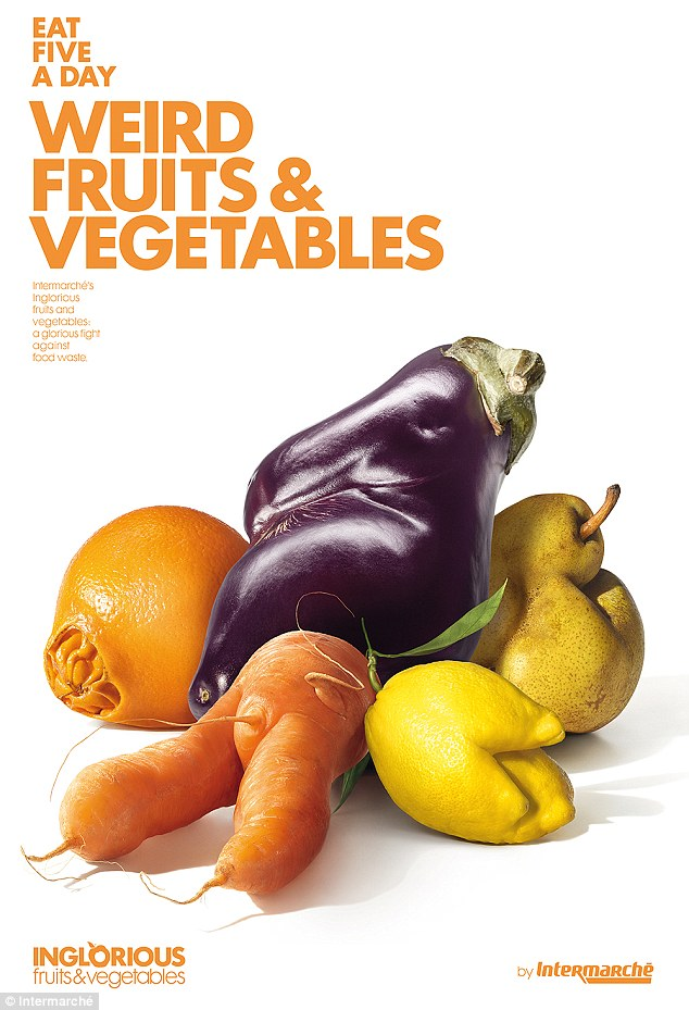 Campaign critique: The ugly vegetables and fruits campaign, Intermarché