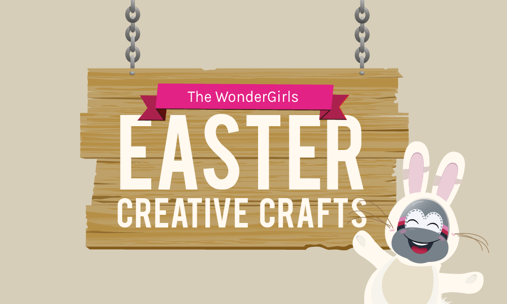 The WonderGirl's Easter Creative Crafts Infographic