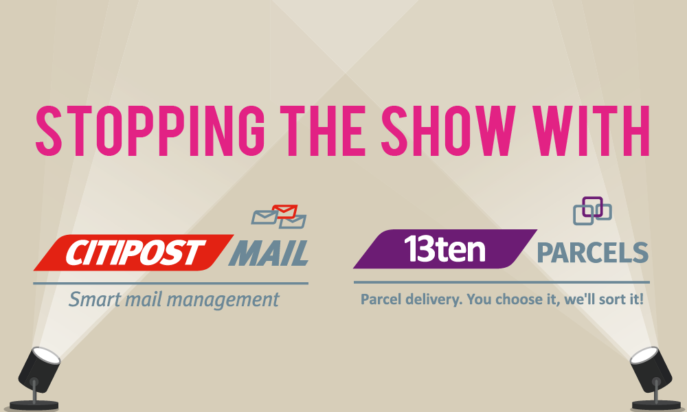 Stopping the show at the e-Delivery and Internet Retailing Exhibition!