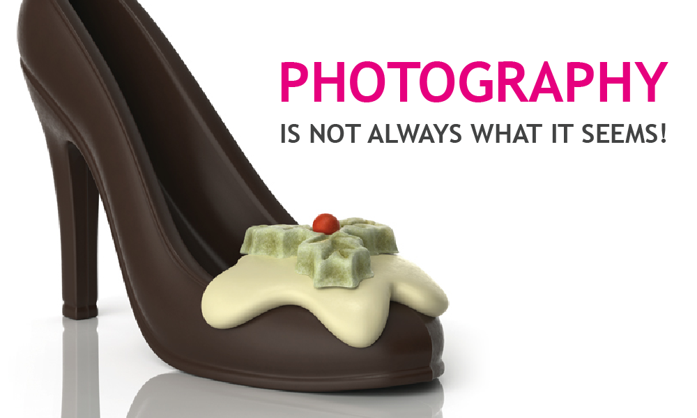 'The camera never lies' –erm it actually does!