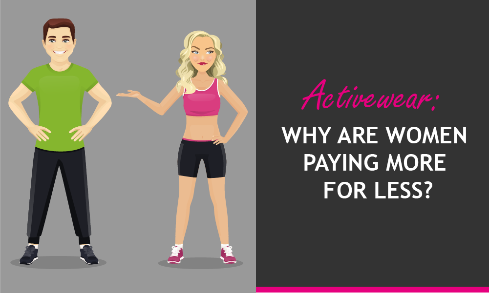 Activewear: Why are women paying more for less?